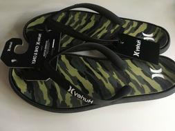 New Hurley Men's Sport Cushion Camo Designer Flip Flop Thong