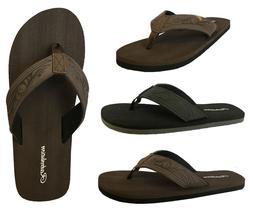 New MEN TRIBAL Tattoo Sandals Flip Flop Size 7-13 Beach Gym.