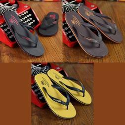 New Mens Flip Flops Rubber Summer Fashion Beach Quality Slip