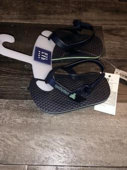 New NWT BABY GAP Baby Boys Flip Flops Sandals size  6-12 Mos