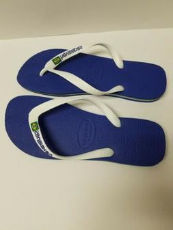 New Original Havaianas Brasil Logo Flip Flops Men Beach Sand