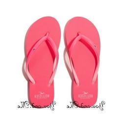 NEW HOLLISTER Rubber Flip Flops for WOMEN Pop Color Sandals