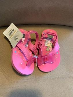 NEW DISNEY STORE BABY GIRLS MINNIE MOUSE FLIP FLOPS SANDALS