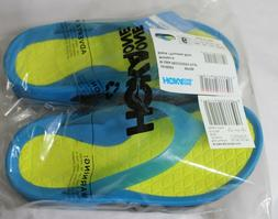 New Womans Hoka One One Recovery Sandals Flip Flop Black and