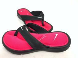 new women s flip flops black pink