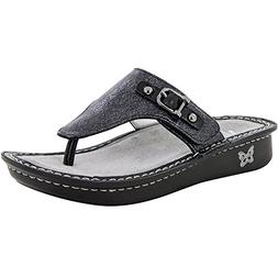 Alegria New Women's Vanessa Thong Sandal Leaded 39