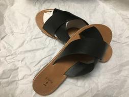 New Women Sandals Casual slip on Flip Flops Flat Size 6