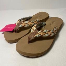 NEW Aerosoles Womens Beach Sandals Flip Flops