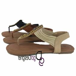 NEW Womens Fashion Shoes Summer Thong Sandals Flip-flops Ope