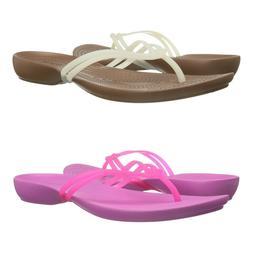 New Womens Crocs Isabella Sandal Straps Flip Flops Summer Sh