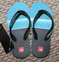 New! Youth Boys Quiksilver Everyday Flip Flops/Sandals/Shoes