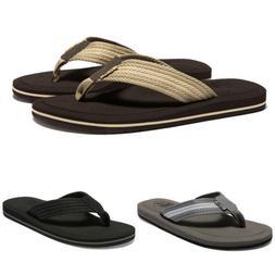 Newdenber Big Size Summer Sandals Man Beach Shoes Flat Slide