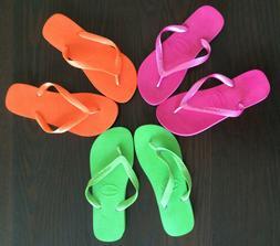 NWOT Havaianas Top Flip-Flops Women's US 9/10, Pink