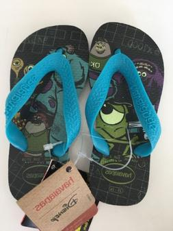 NWT Disney Monsters Inc. Toddler Havaianas Size 10 Sandals F