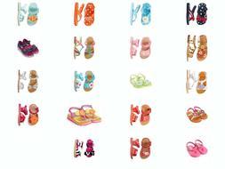 NWT Gymboree Flip Flops Baby Girl Toddler Sandals Shoes US N