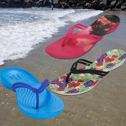 NWT CROCS Isabella Graphic Women Flip Flops Sandal SELECT SI