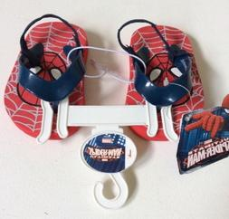NWT Marvel Ultimate Spider-Man Boy's Flip Flops Toddler Size