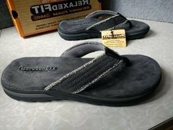 NWT, Men's Skechers Relaxed Fit: Supreme - Bosnia Flip Flop
