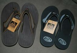 NWT Mens REEF Flex or Element w/ bottle openers) Sandals Fli