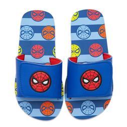 nwt store boy spiderman flip flops sandals