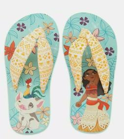 NWT Disney Store Moana Flip Flops Sandals Shoes Girls sizes