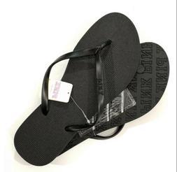NWT Victoria secret pink flip flops   SIZE Small 5/6 Sandals