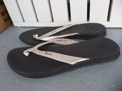 NWT WOMEN'S REEF CATCH FLIP FLOP'S/SANDALS.SIZE 7.BRAND NEW