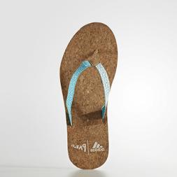 NWT adidas Women's eezay Parley Flip Flops Sandals Size  9 1