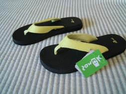 NWT Women's Sanuk Flip Flops Sandals Thongs Yoga Mat Sandal