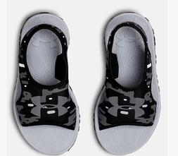 NWT - Under Armour Youth Boys UA B Fat Tire PS II SL Sandals