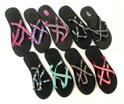 Teva Olowahu Mush Flip Flops Sandals Women's Thongs Multiple