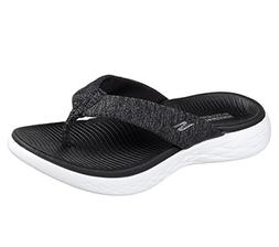 Skechers On The GO 600 Preferred Womens Flip Flop Thong Sand