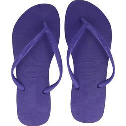 Original Slim Ladies havaianas Flip Flops, Made In Brasil, N
