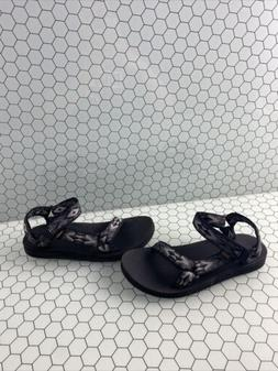 TEVA Original Universal Black/Gray Ankle Strap Active Sandal