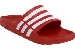 Adidas Originals Collegiate Red White Duramo Slides Flip Flo