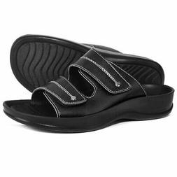 AEROTHOTIC Orthotic Comfort Dual Strap Sandals and Flip Flop