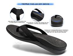 orthotic sandals with arch support for plantar