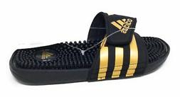 adidas Performance Men's Adissage Slide Sandal Gold Ink Lege