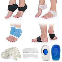 Plantar Fasciitis Foot Compression Sleeve Package  by Fittes