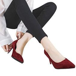 Seaintheson Pointed Toe Heels for Women Pump, Women's Fashio