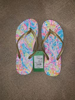 pool flip flops nwt new summer sandals