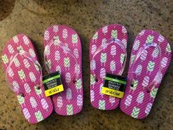 Popsicle Flip Flops Girls Size 13/1 & 2/3 NEW