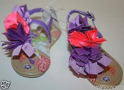 Disney Princess Girls Floral Tinker Bell Tinkerbell Sandals