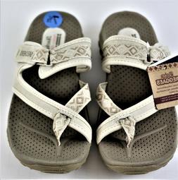 Skechers Reggae-Trailway Women's Slip-On Sandals Natural 7