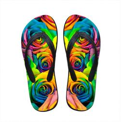 Rose Summer Style Women Flip Flops for Teenager Girl Ladies