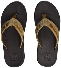 Reef Men's Phantom LE Sandal, Brown/Tan, 8 M US