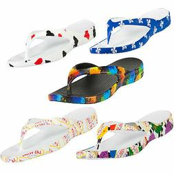 DAWGS Men's Sandals Thongs Flip Flops W/ Arch Support - TONS