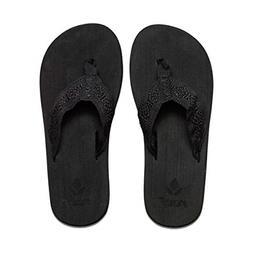 Reef Sandy Flip Flop - Women's Black/Black, 10.0