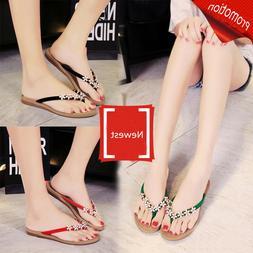 Simple Summer Flip Flop Thong Sandals Summer Flats Casual Be