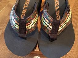 Size 8 Rocket Dog Platform Women's Flip Flops NEW with Box S